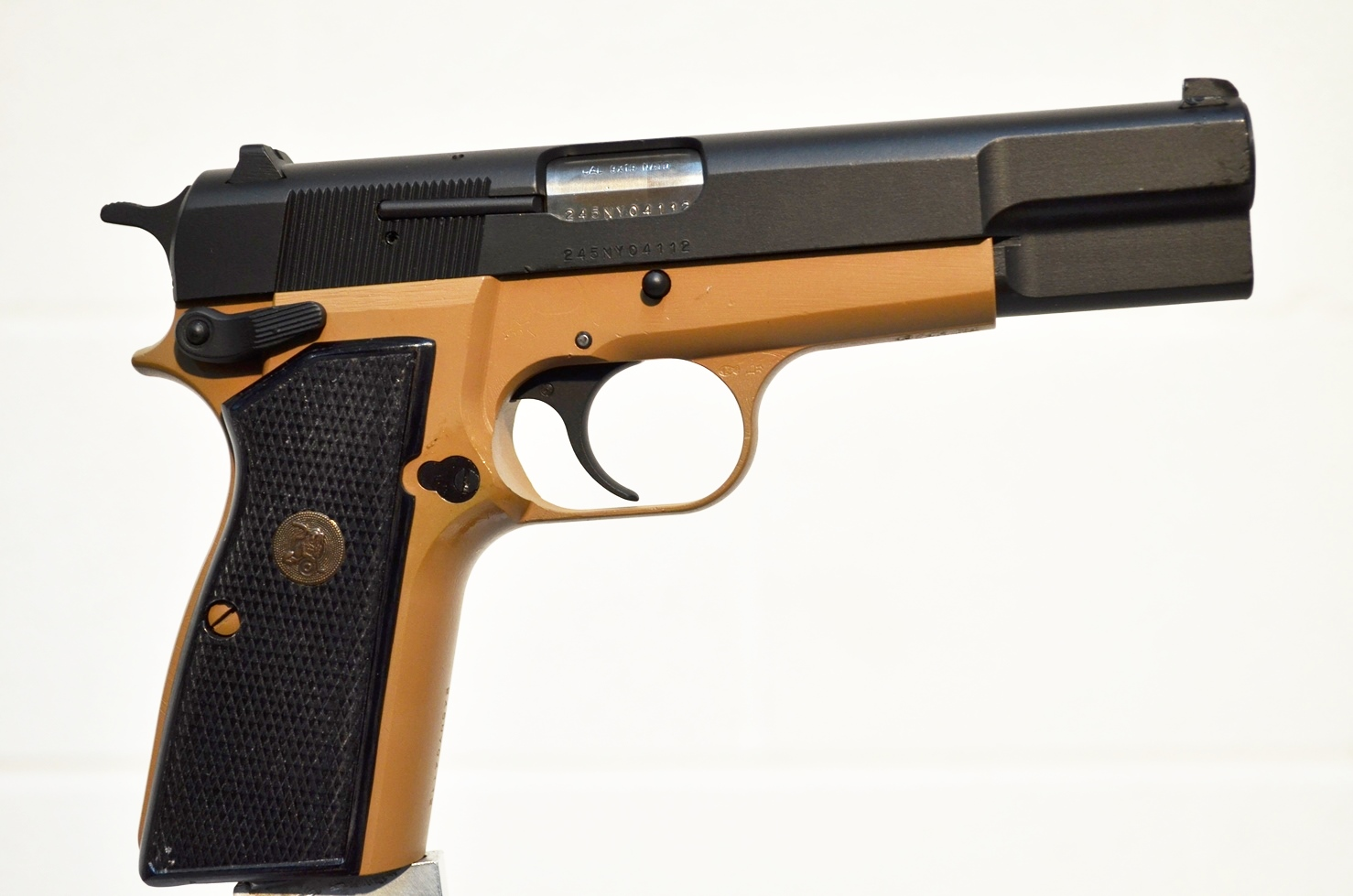 FN Browning Hi Power 9mm Custom Refinished 245NY04112
