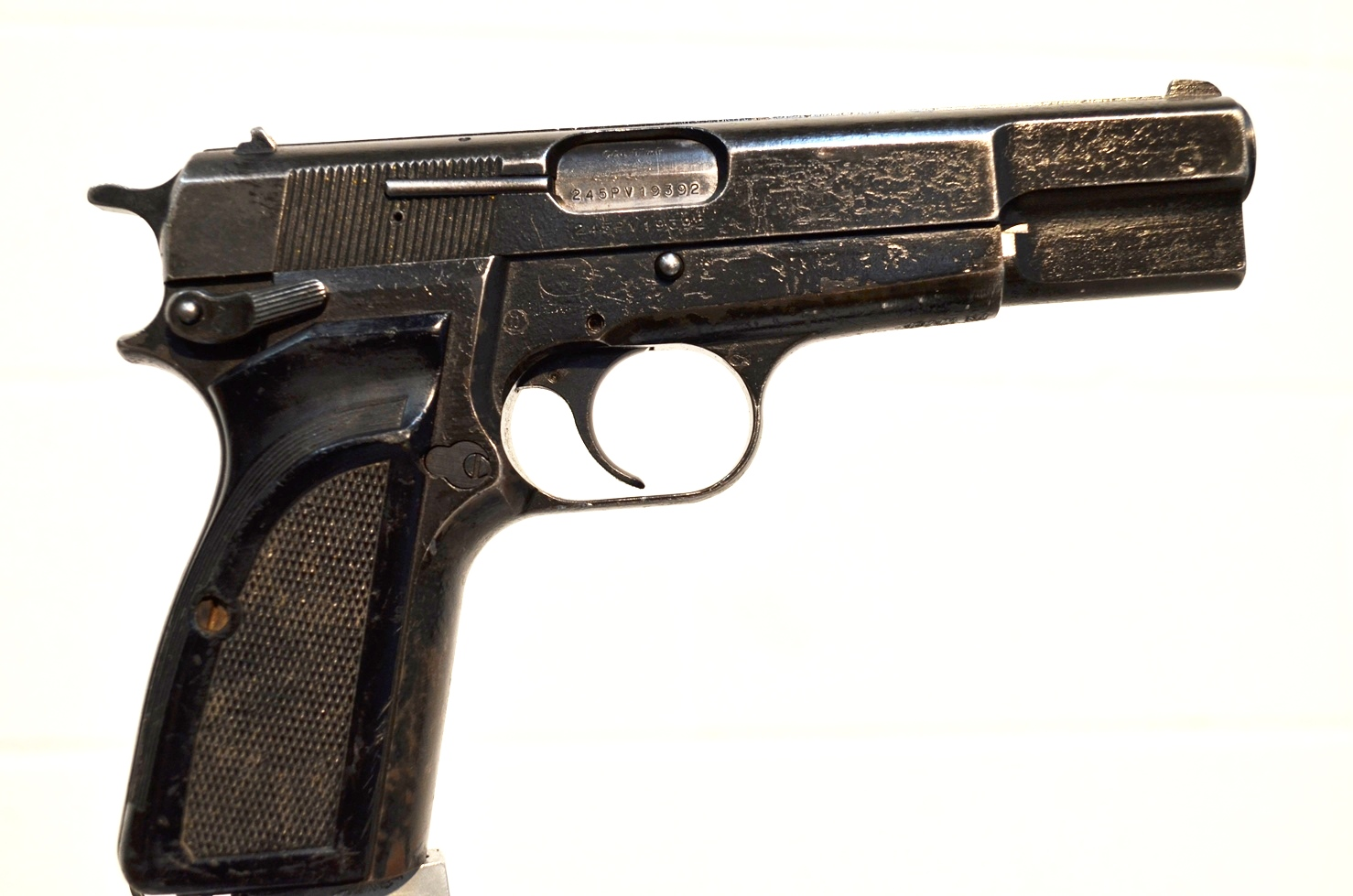 FN Browning Hi Power 9mm Surplus MK-II # 245PV19392