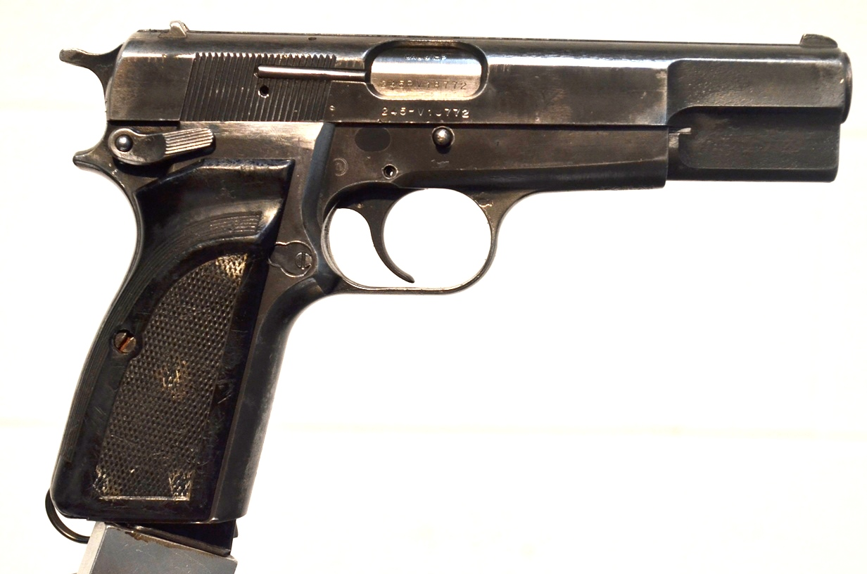 FN Browning Hi Power 9mm Surplus MK-II # 245PV18772