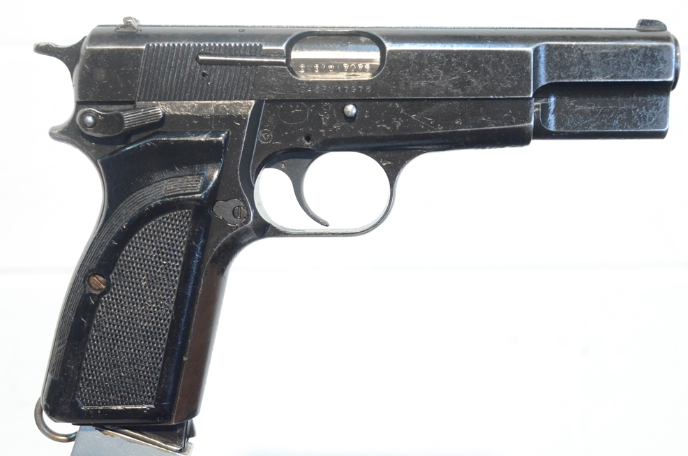 FN Browning Hi Power 9mm Surplus MK-II # 245PV17975