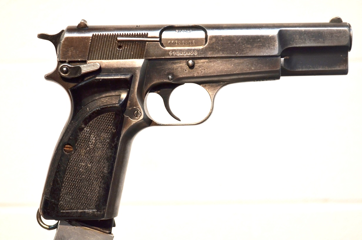 FN Browning Hi Power 9mm Surplus MK-II # 77C43408