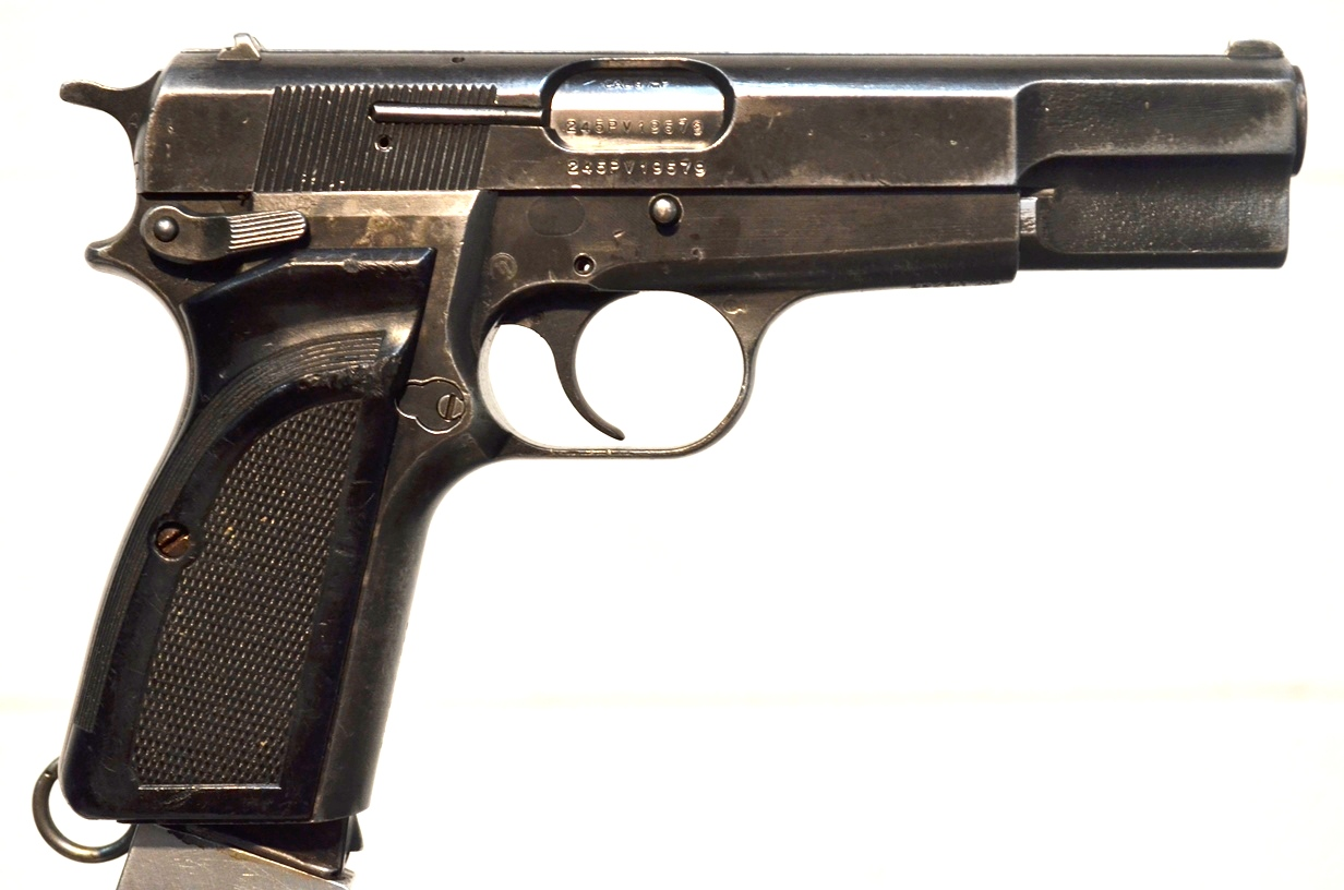 FN Browning Hi Power 9mm Surplus MK-II # 245PV19579