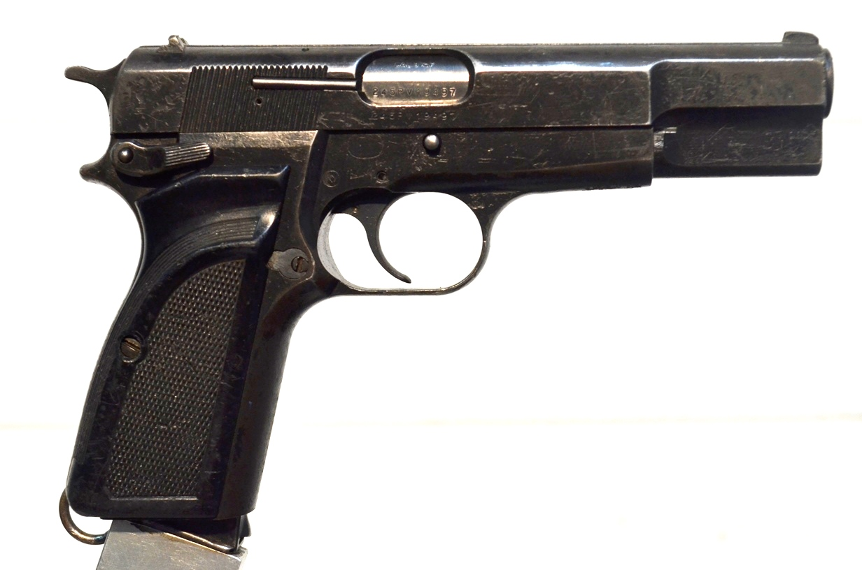 FN Browning Hi Power 9mm Surplus MK-II # 245PV19497