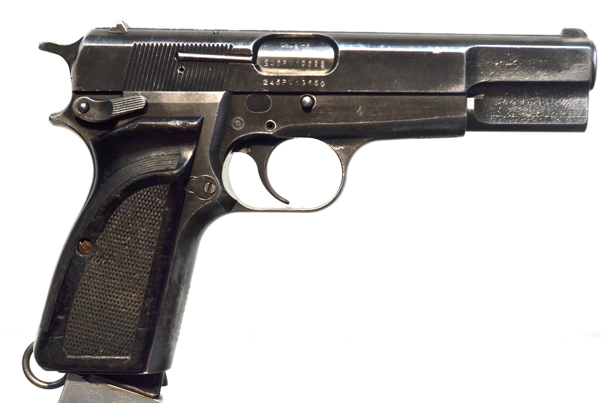 FN Browning Hi Power 9mm Surplus MK-II # 245PV19569