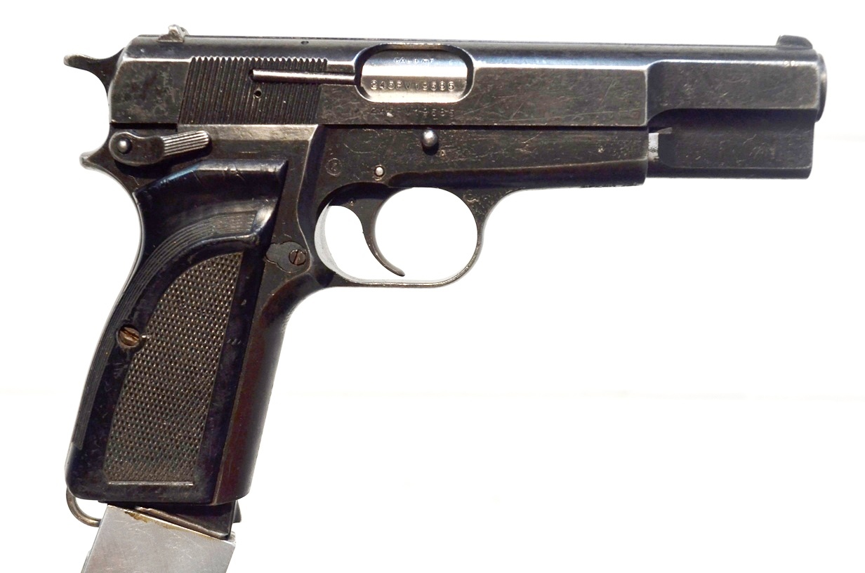 FN Browning Hi Power 9mm Surplus MK-II # 245PV19585