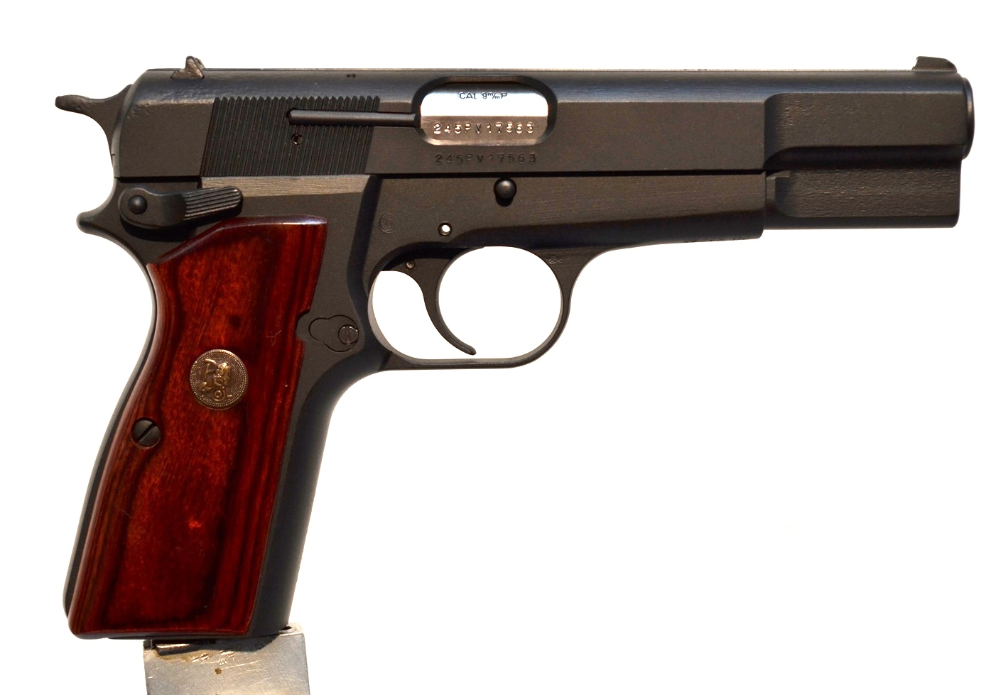FN Browning Hi Power 9mm Custom Refinished # 245PV17563