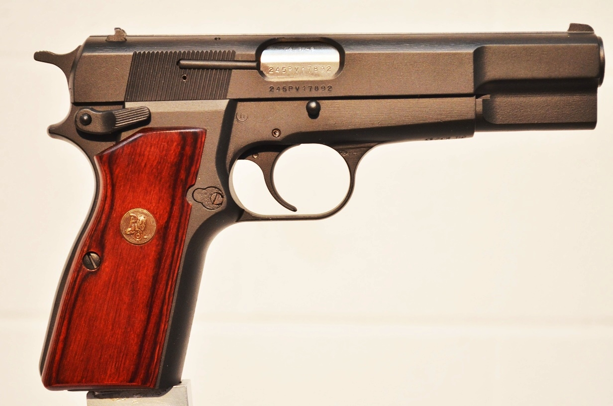 FN Browning Hi Power 9mm Custom Refinished #245PV17892