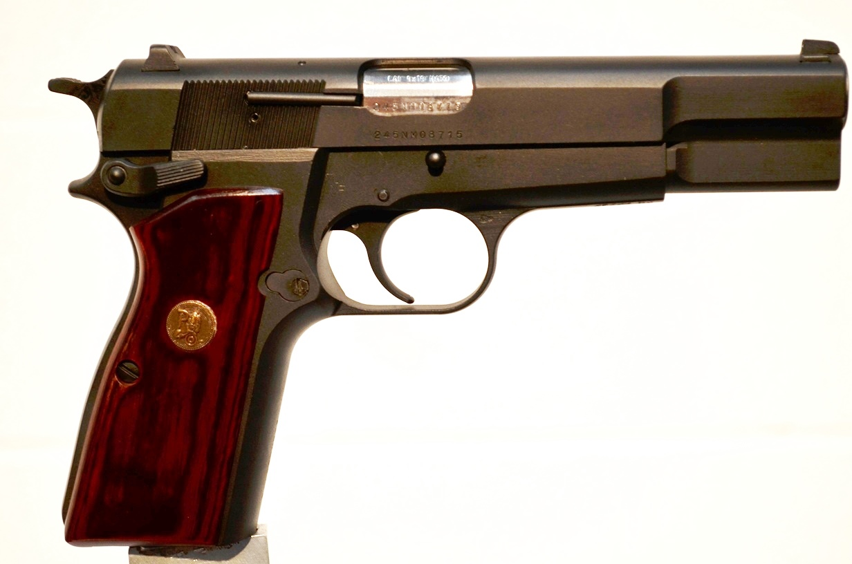 FN Browning Hi Power 9mm Custom Refinished # 245NM08715