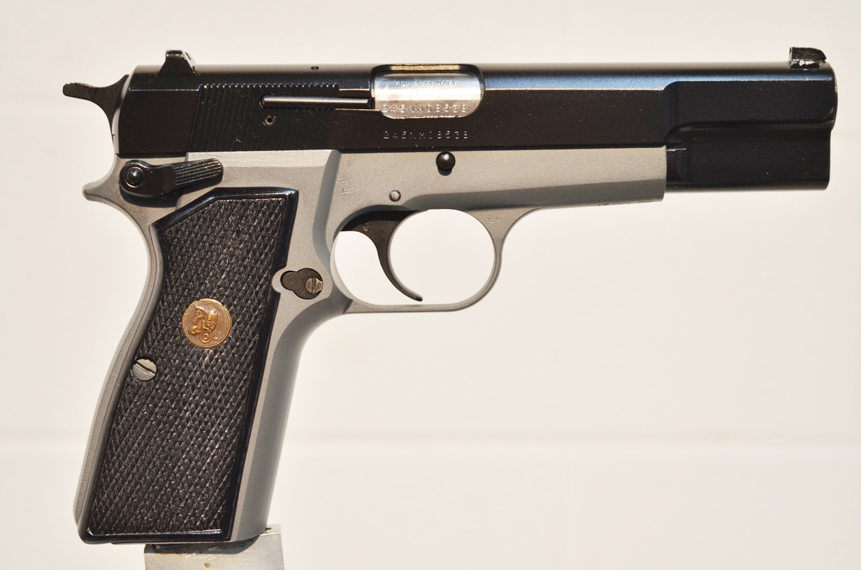 FN Browning Hi Power 9mm Custom Refinished 245NM08538