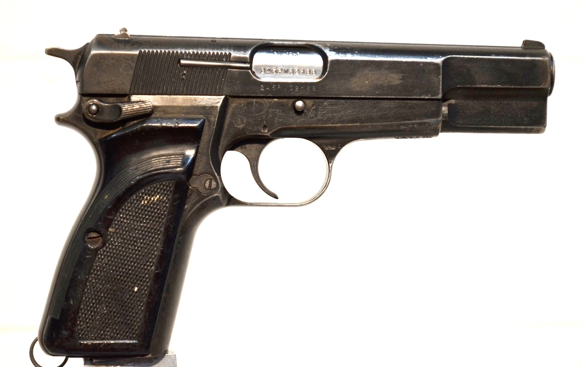 FN Browning Hi Power 9mm Surplus MK-II # 245PV32188