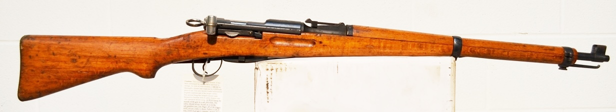 Swiss Surplus Model K-31 Rifle 7.5x55mm  970652