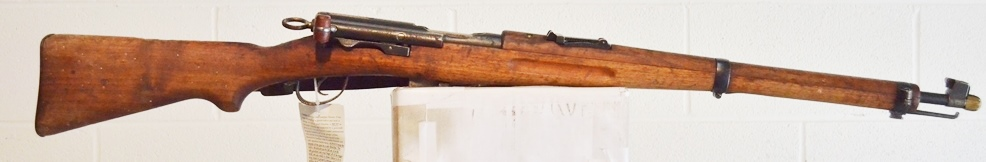 Swiss Surplus Model 1911 Carbine K11 7.5x55mm # 152361
