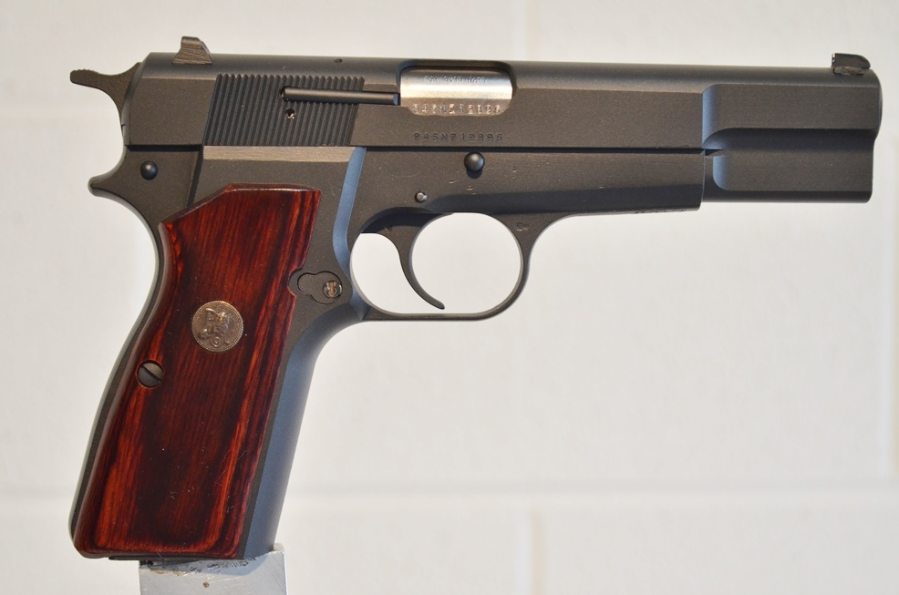 FN Browning Hi Power 9mm Custom Refinished # 245NZ12896