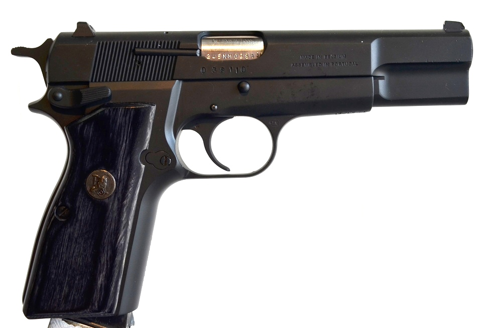 FN Browning Hi Power 9mm Custom Refinished # 245NM03811