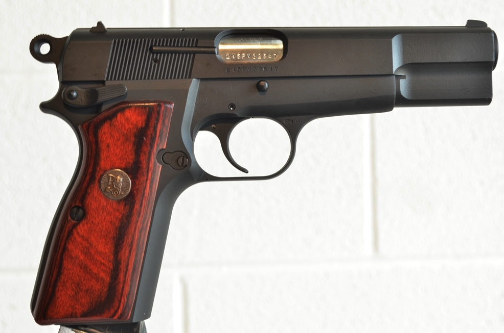 FN Browning Hi Power 9mm Custom Refinished # 245PV32647