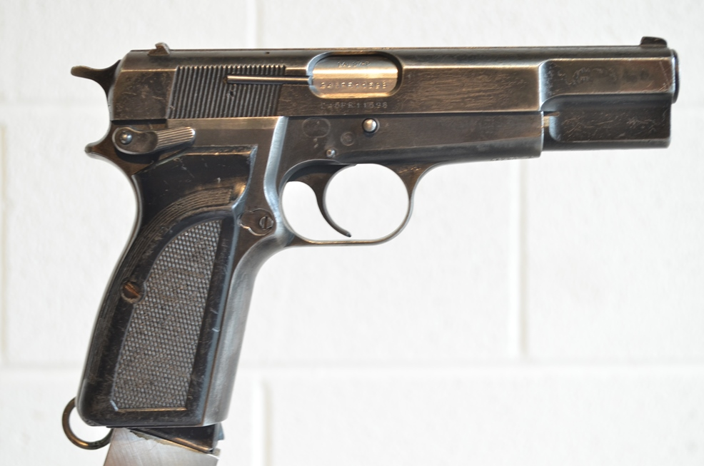 FN Browning Hi Power 9mm Surplus MK-II # 245PR11598