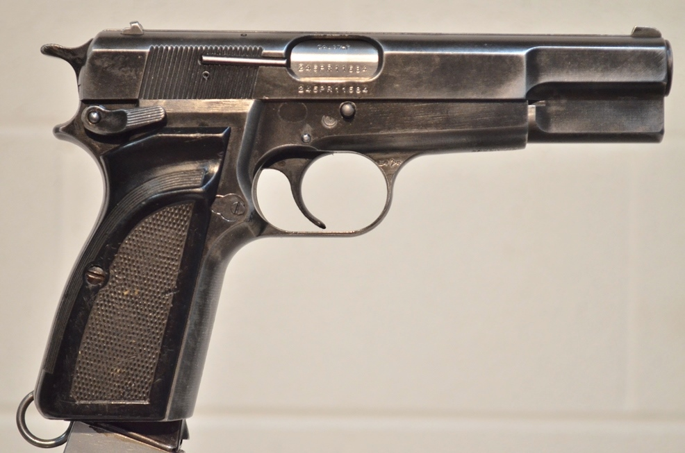 FN Browning Hi Power 9mm Surplus MK-II # 245PR11684