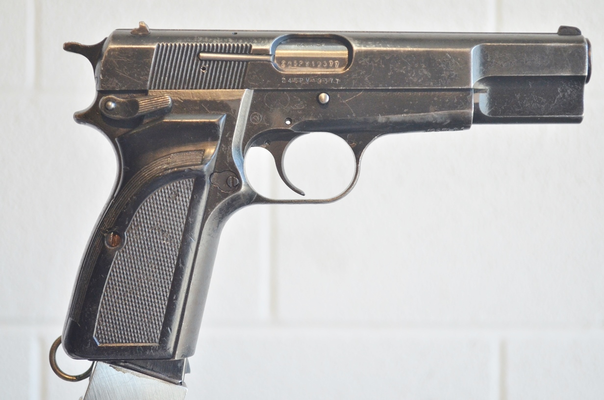 FN Browning Hi Power 9mm Surplus MK-II # 245PV19377