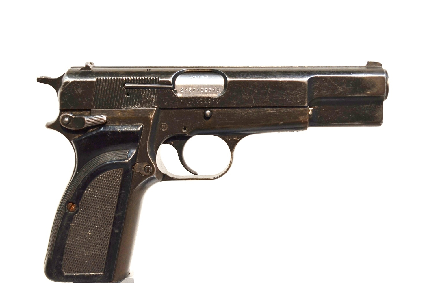 FN Browning Hi Power 9mm Surplus MK-II # 245PV32810
