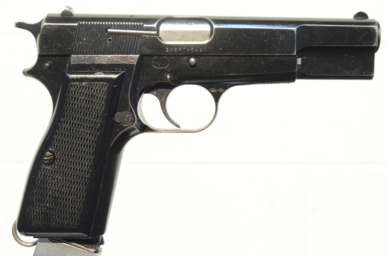 FN Browning Hi Power 9mm Custom Refinished 245NM09170