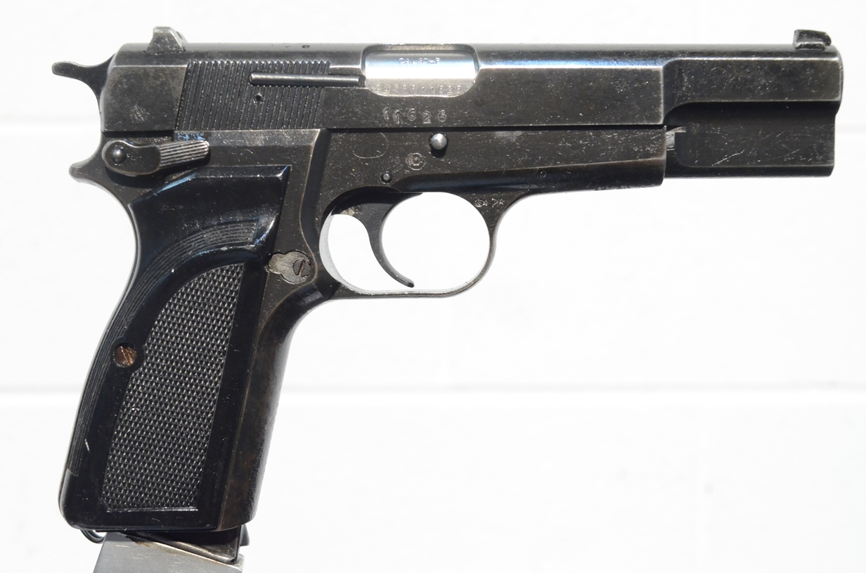 FN Browning Hi Power 9mm Surplus MK-II #245PV19172
