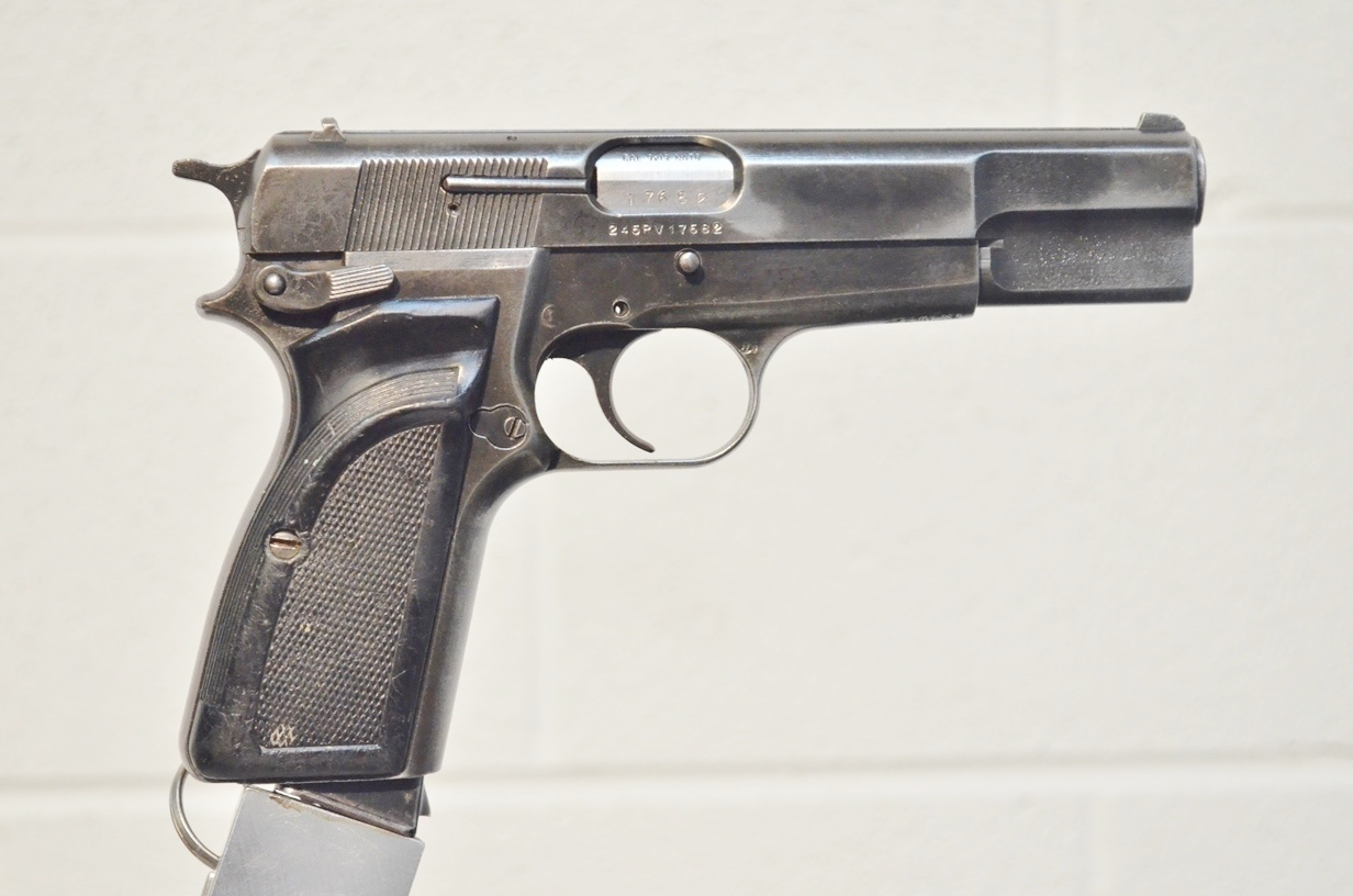 FN Browning Hi Power 9mm Surplus MK-II # 245PV17682