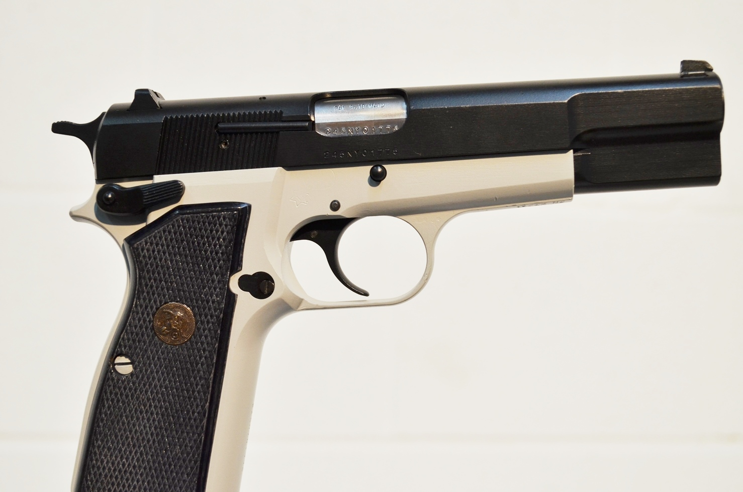 FN Browning Hi Power 9mm Custom Refinished #245NY01775